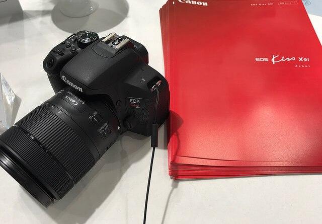 キヤノンEOS Kiss X9iとEOS 9000Dを見て触って来た!究極の入門一眼レフカメラの予感