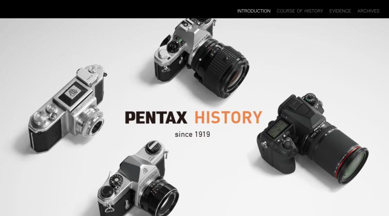 Pentax History