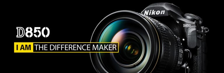 Nikon D850 I AM DIFFERENCE MAKER