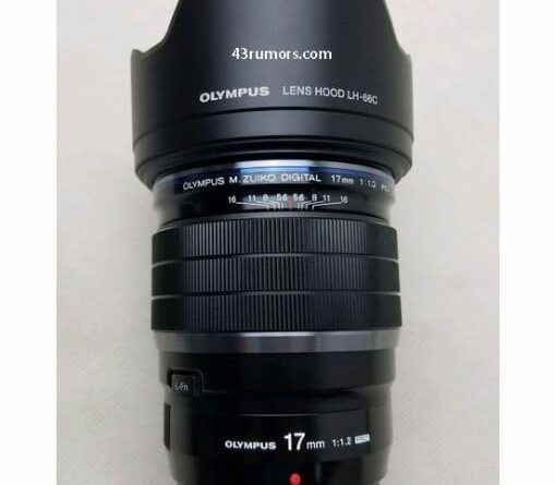 オリンパス M.ZUIKO DIGITAL 17mm F1.2 PRO レンズリーク画像