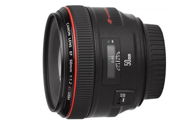 Canon EF50mm F1.2L USM