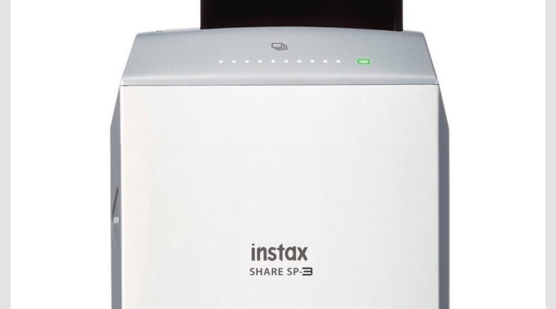 Fujifilm Instax Share SP-3 Square Printer is Coming
