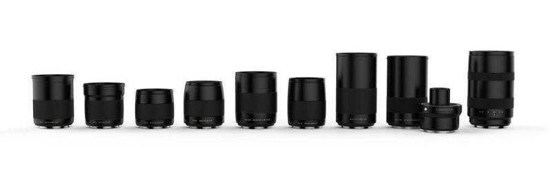 Hasselblad XCD レンズ