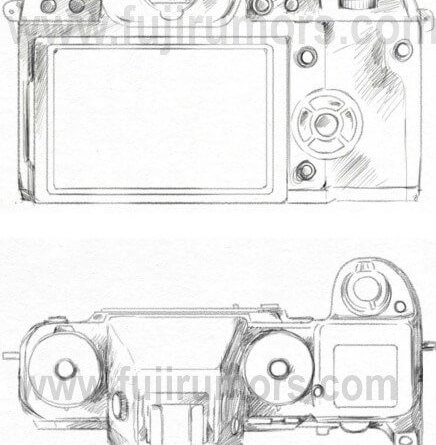 Meet the Fujifilm X-H1… Now also Top & Backside View