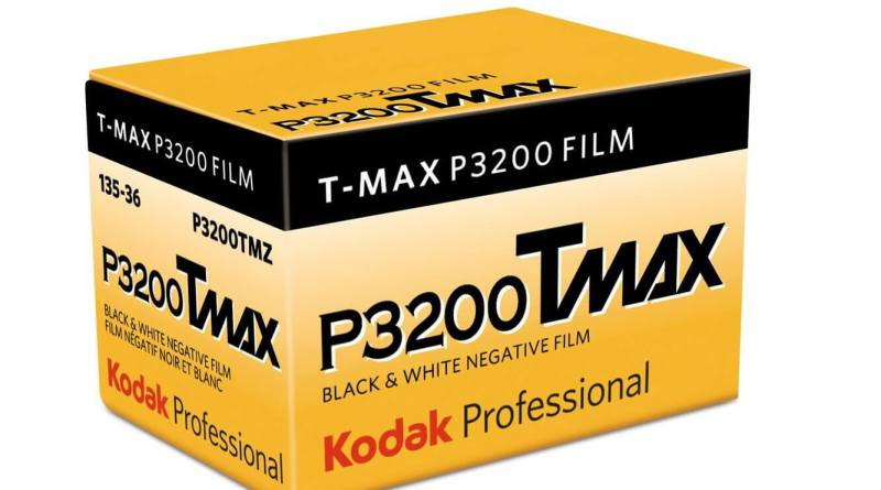 T-MAX P3200 is back.