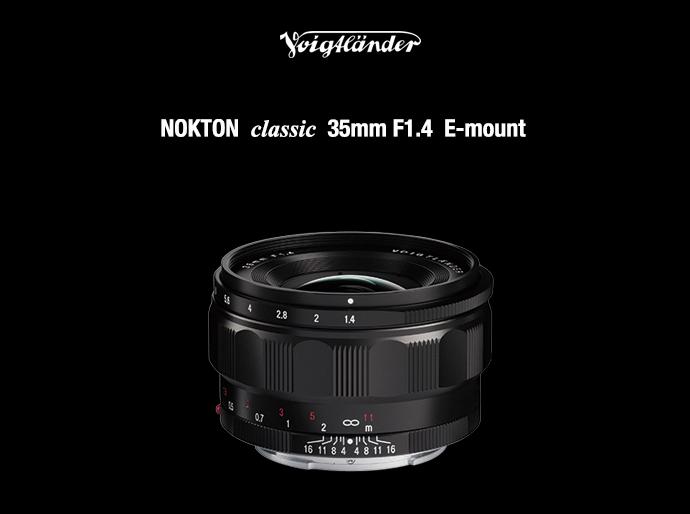 COSINA Voigtlander NOKTON Classic 35mm F1.4