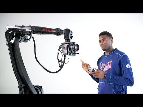 Motorized Precision社のシネマロボット KIRA