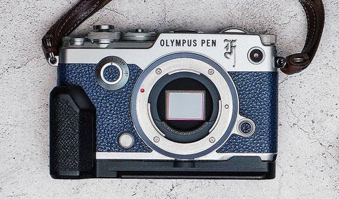 OLYMPUS PEN-F Blue