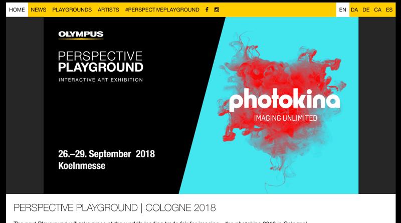 "OLYMPUS ""Perspective Playground"""