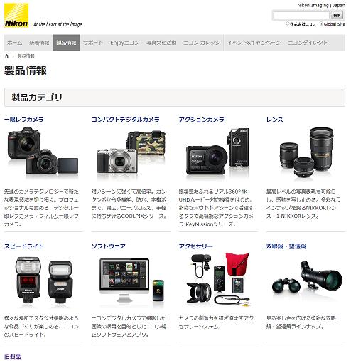 Nikon 製品情報