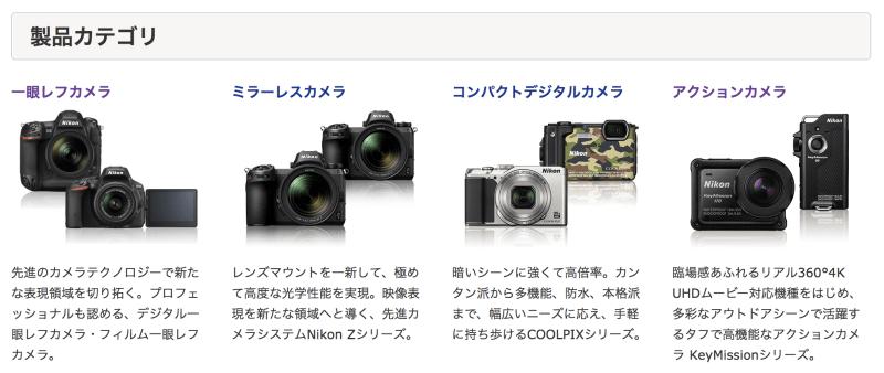 Nikon 製品