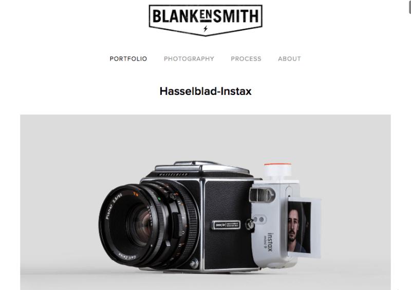 Instax + Hasselblad
