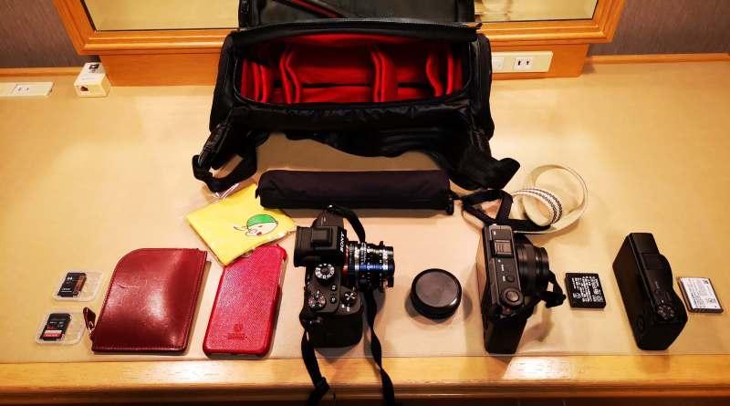 Aosta ジェットダイスケ PHOTOWALK 例のカメラバッグ