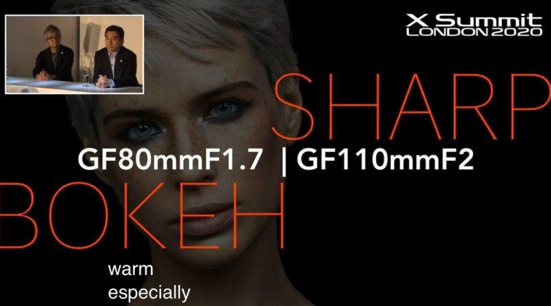 Fujifilm GF50mm GF110mm