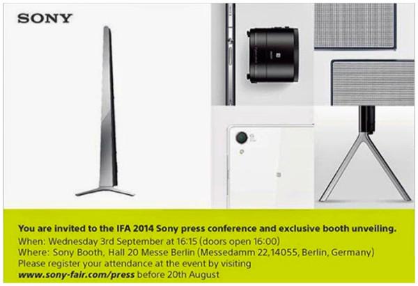 SONY QX1発表