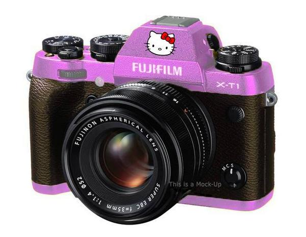 LEAKED IMAGE of the upcoming limited edition of the X-T1... thx Glenn :-)