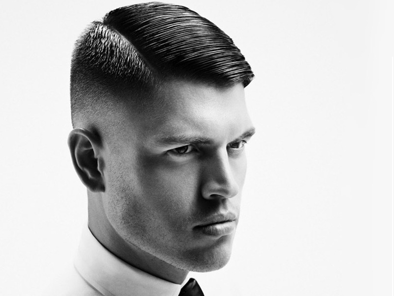 40 Mens Slicked Back Hairstyle Ideas