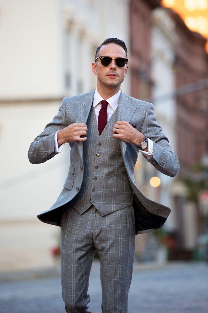 50 ways to wear a grey suit modern