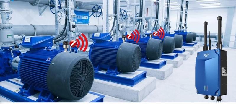 Monitorização de vibrações temporária – caso prático motores
