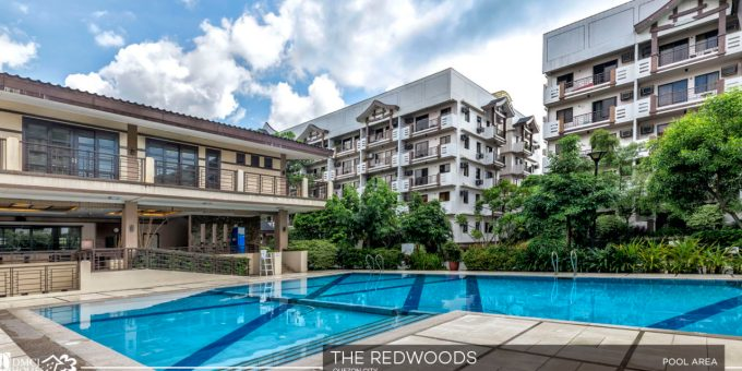 Condo in quezon city the redwoods residences for House with swimming pool for rent in quezon city