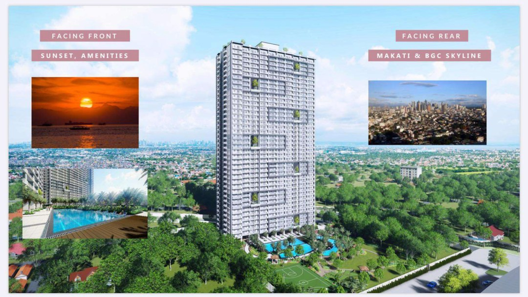 Sonora Garden Residences Facade Views