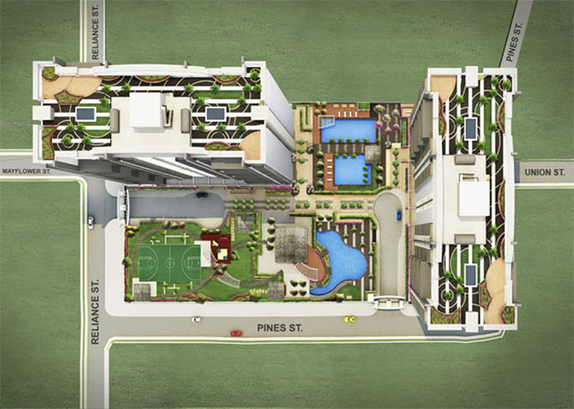 Flair Towers Site Development Plan