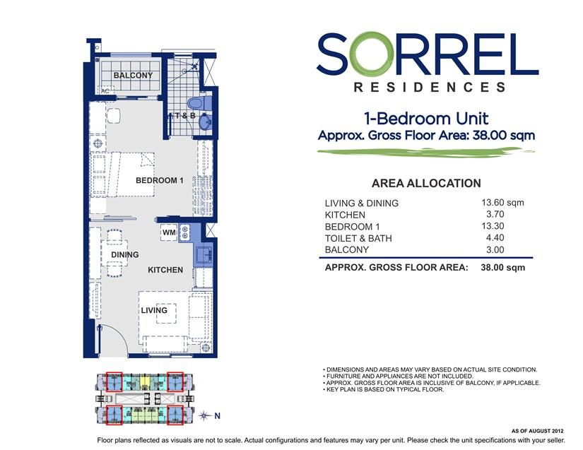 Sorrel 1 Bedroom