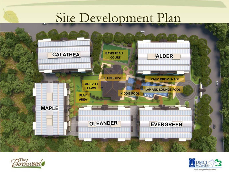The Birchwood Residences Site Development Plan