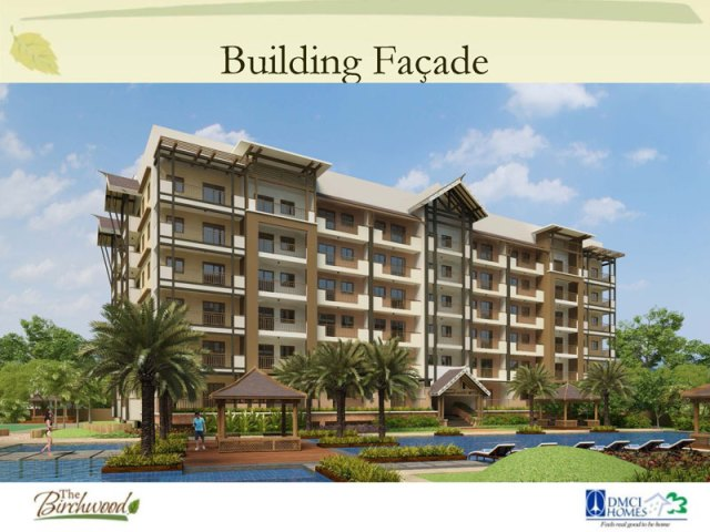 The Birchwood Residences Building Facade