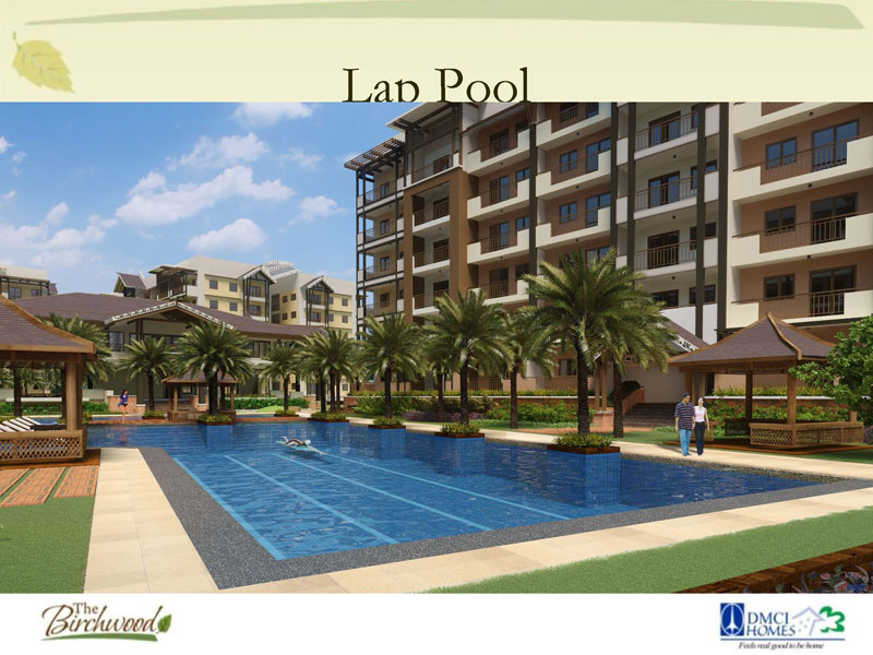 The Birchwood Residences Lap Pool