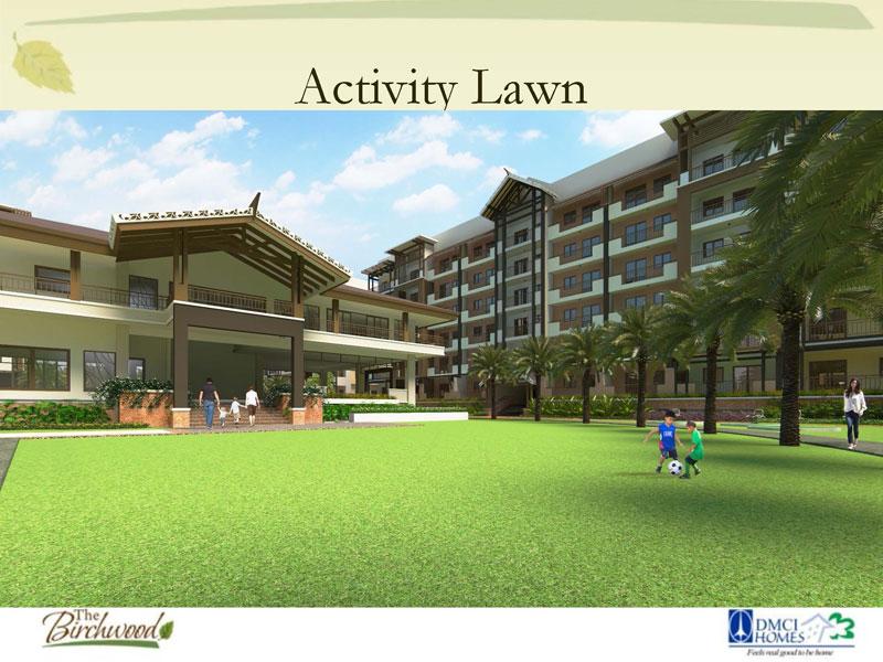 The Birchwood Residences Activity Lawn