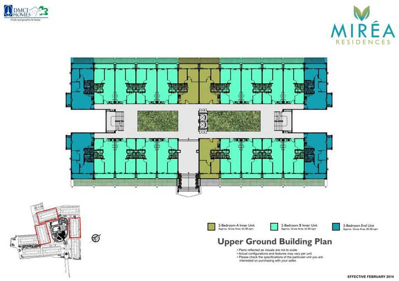 Mirea Residences Building Layout