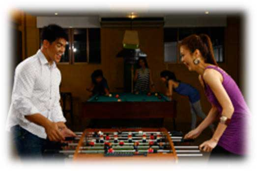 Asteria Residences Game room
