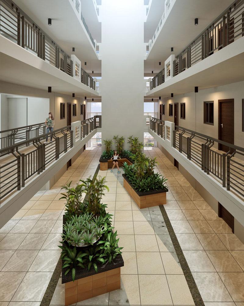 Fairway Terraces Corridors