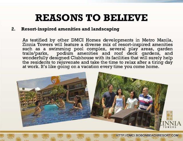 Zinnia Towers Resort Living