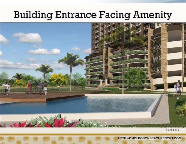 Zinna Towers Entrance Facade