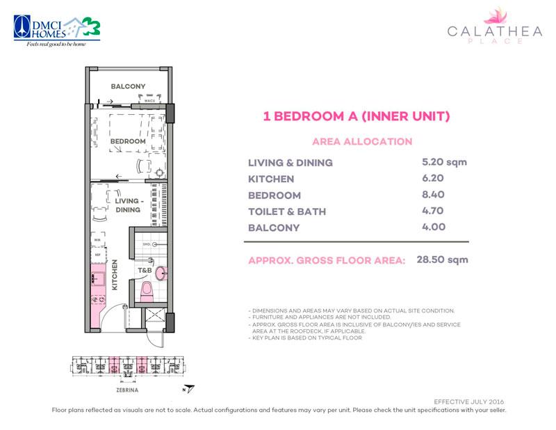 Calathea Place 1-BR-A