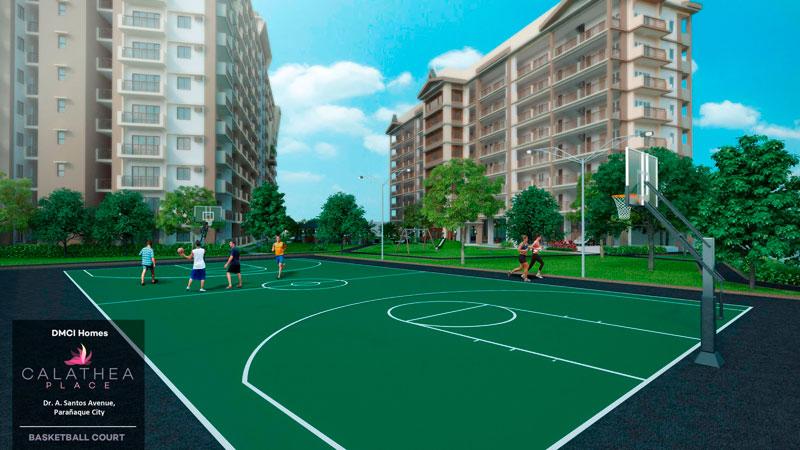 Calathea Place Basketball-Court