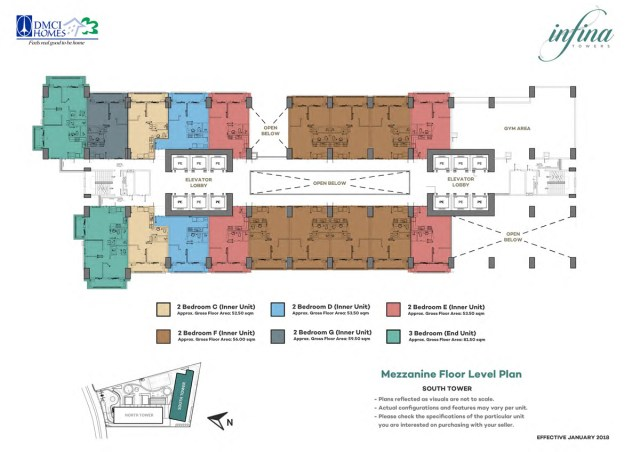 Infina Towers Floor plans