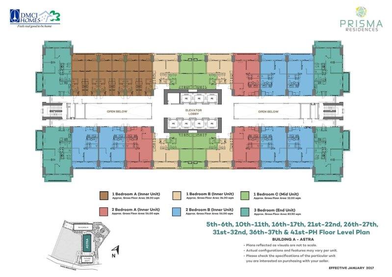 Prisma Residences Floor Plan 3