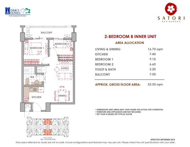 Satori Residences 2 Bedroom