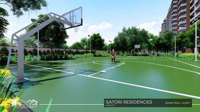 Satori Residences Basketball Court