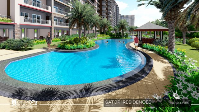 Satori Residences Leisure Pool