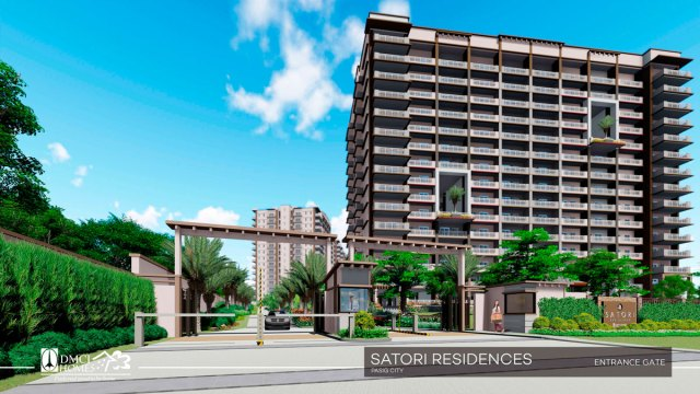 Satori Residences Entrance Gate