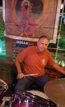 Bob Cronin on drums
