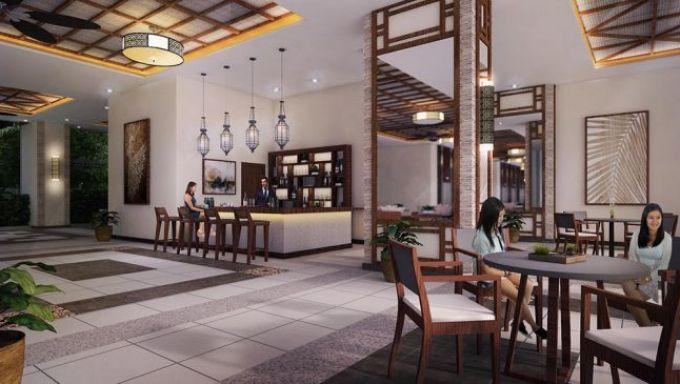 the orabella bar area
