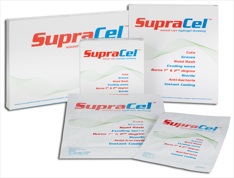 SupraCel Wound Care Hydrogel