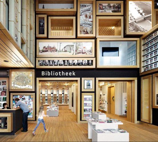 Beste bibliotheek van Nederland Rozet Arnhem
