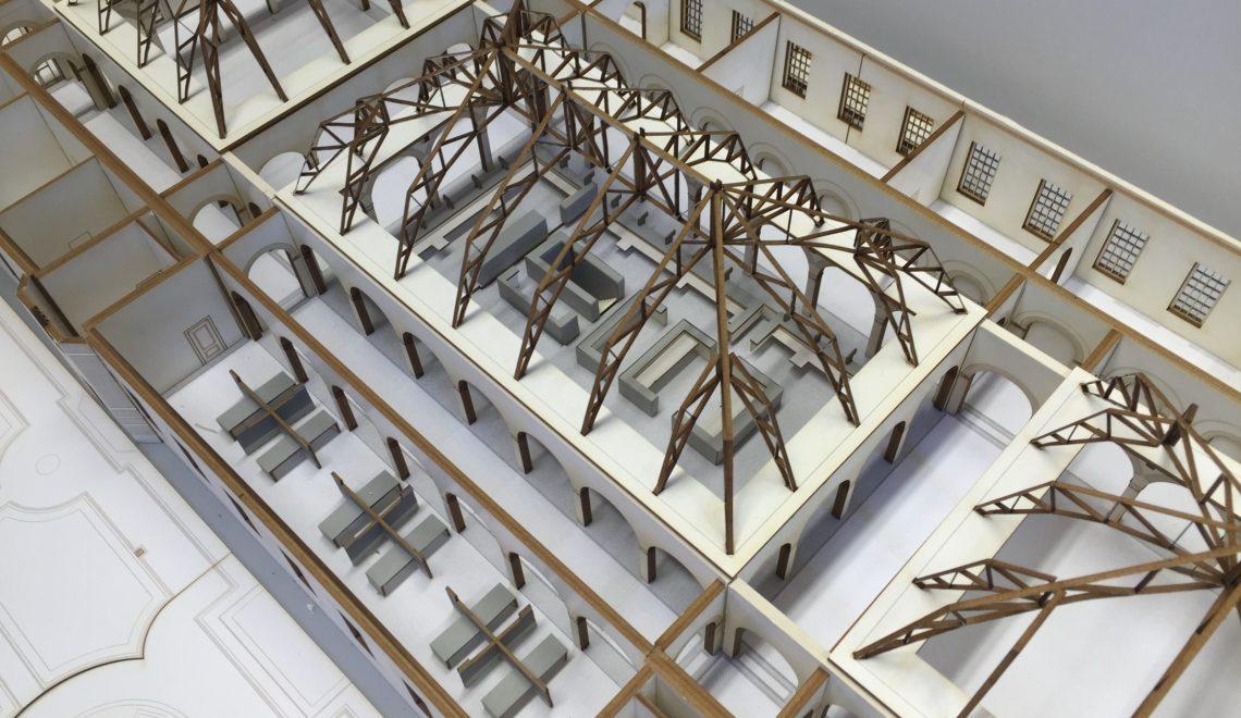 maquette achterhuis Rotterdam Stadhuis