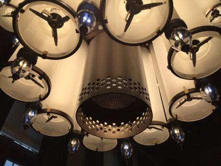 Raadzaal Rotterdam - detail kroonluchter